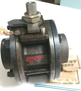 """Worcester CWP720 CS Carbon Steel Body 316 SS Stainless Ball 2"""" Valve"""