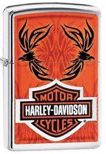 Original ZIPPO Feuerzeug Harley Davidson Motor Cycles Tattoo  60003931 Neu & OVP