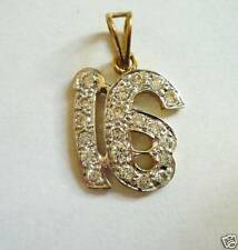 Cubic Zirconia Indian Pendants