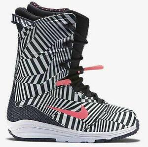 Nike Snowboarding Lunarendor QS Snowboard Boots Dazzle Camo size 10.5 and 11.5