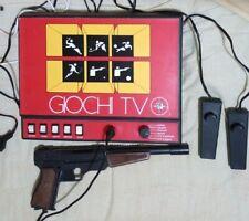 Bellissima Console Anni 80 Giochi TV REEL Con Joistick E Pistola inclusa