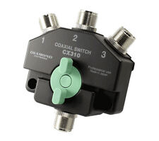 Diamond CX310A Heavy Duty Wideband 3 Way Coaxial Switch with SO-239 Connectors
