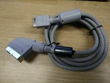 SONY PLAYSTATION PS1 PS2 PS3 OFFICIAL GENUINE RGB SCART CABLE LEAD ADAPTER RARE!