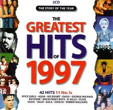 THE GREATEST HITS OF 1997 -11 NUMBER ONES / VARIOUS ARTISTS - 2 CD SET