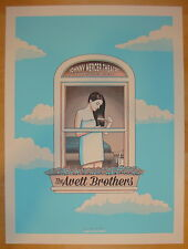 2014 Avett Brothers - Savannah I Concert Poster by Kyle Baker S/N