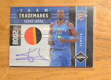 Serge Ibaka 2011-12 Panini Limited Team Trademarks Prime Jersey Relic #D 2/25