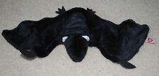 TY Beanie Buddy Black Bat Radar Retired 2001 Halloween Decoration Plush Toy VTG
