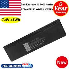 For Dell Latitude E7240 E7250 E7270 7.4V 45Wh Battery 9C26T GVD76