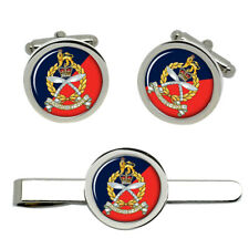 Gurkha Staff and Personnel Support Branch, Army Cufflinks and Tie Clip Set