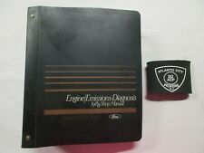 1988 Ford Car Truck Volume H Engine Emissions Diagnosis Service Shop Manual