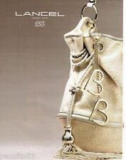 PUBLICITE ADVERTISING 106  2012  Lancel  créa le sac B. Bardot