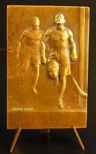 Médaille sc Méry sport course à pied marathon running  Mens sana in corpore sano