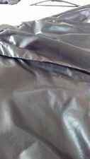 men blouson leather jacket in Black  38 inch chest
