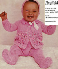 Hayfield Baby Items Crocheting & Knitting Supplies