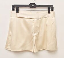 Chris Benz Small Ladies Silk Cream Shorts And Halter Top