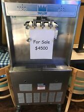 Taylor Y754-34 Soft Service Ice Cream Machine Air Cooled 1 Ph 230v. Works great
