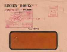 1939 RARE LETTRE 1ERE LIAISON AERIENNE DE NUIT BORDEAUX MONT DE MARSAN