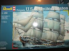 REVELL 1/150th SCALE SAILING SHIP UNITED STATES   # 05406