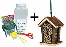 The Ultimate Bug Kit, Giant Bug Viewer,Tongs,Bug Pot ,Habitat Jar & Bug Hotel