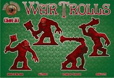 Dark Alliance 1/72 Fantasy Plastic War Trolls Set #3 Figures 72032 Boxed NEW!