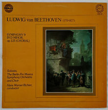 Beethoven: Symphony No. 9 Choral/Berlin Pro Musica/Richter UK Peerless VG+