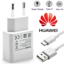Huawei HW-059200EHQ Adaptateur Chargeur Rapide + USB Type-C pour Huawei P20 Lite