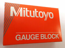 MITUTOYO STEEL GAUGE BLOCK 614320-531 13A .02 INCH ASME O / D NEW OLD STOCK