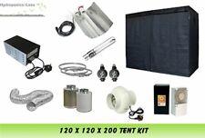 Complete Hydroponic Grow Room Tent Fan Filter Light Kit 600 watt 120x120x200