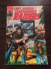 Captain Savage and His Leatherneck Raiders #8 Nov 1968 Marvel