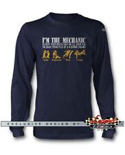 I'm The Mechanic - 4 Stroke mecánico manga larga camiseta multicolor Colores &
