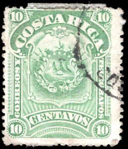 Scott # 38 - 1892 - ' Coat of Arms '