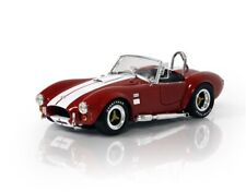 SHELBY COLLECTIBLES SHELBY COBRA 427 S/C RED & WHITE 1/18 DIECAST CAR