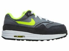 Nike Air Max 1 Toddlers 609371-045 Cool Grey Volt White Shoes Baby Size 9