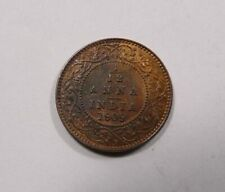 British India King Edward VII 1/12 Anna 1909 Nice UNC with Mint Luster