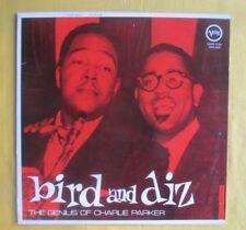 Charlie Parker & Dizzy Gillespie Lp - The Genius Of , Japan Verve pressing