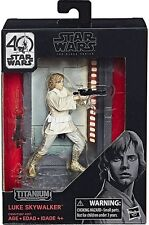 Hasbro Star Wars Black Series 40th Anniversary W1 Titanium 03 LUKE SKYWALKER