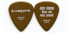 EUROPE 2012 Bones Tour Guitar Pick!!! JOHN NORUM custom concert stage Pick #2