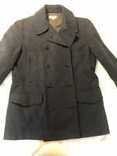 Wallace And Barnes J.Crew Men's Size Large Pea Coat Navy Blue