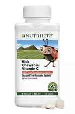 Amway Nutrilite Kids Chewable Vitamin C (180Tablets) 180 Days*****NSF Certified