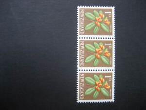 NEW ZEALAND NHM COIL STRIP-1960 PICTORIALS 1d Perf 14 1/2x13 WMK SIDEWAYS SG782b