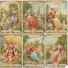 Chromo Liebig Sang. 535 ITA I Cinque Sensi II ANNO 1897