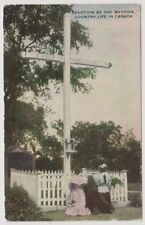 Canada postcard - Devotion by the Wayside, Country Life in Canada (A9)