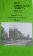 Old Ordnance Survey Maps Newburn Lemington & Addison Tyneside 1914 Godfrey Edit