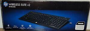 HP Wireless Elite Keyboard v2. A Sleek Ultra-Slim Versatile Keyboard