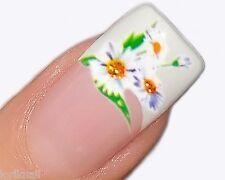 Nail Art Wasser Tattoo Aufkleber für Nageldesign Sticker Blumen Design SY062