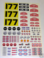 RC 10th 1:10 scale Tamiya Mini Monte Carlo Rally stickers Decals 177 Aaltonen