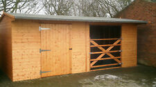 HORSE STABLE/FIELD SHELTER WOODEN GATE COMBO