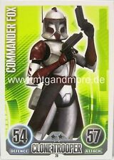 Star Wars Force Attax  Commander Fox #020