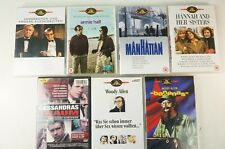 Konvolut 7 DVDs - WOODY ALLEN - Manhattan Hannah Bananas etc. Filme - DVD 130