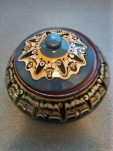 Antique Bulgarian Terracotta Large  Ceramic bowl